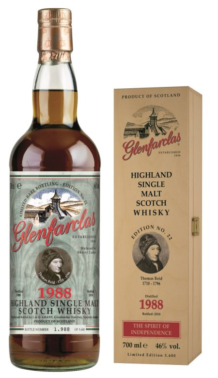 Glenfarclas Edition No. 22 Thomas Reid