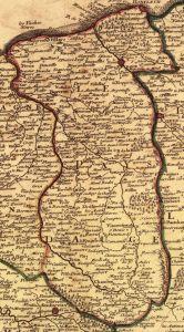 Landschaft und der Calvados Pays d'Auge