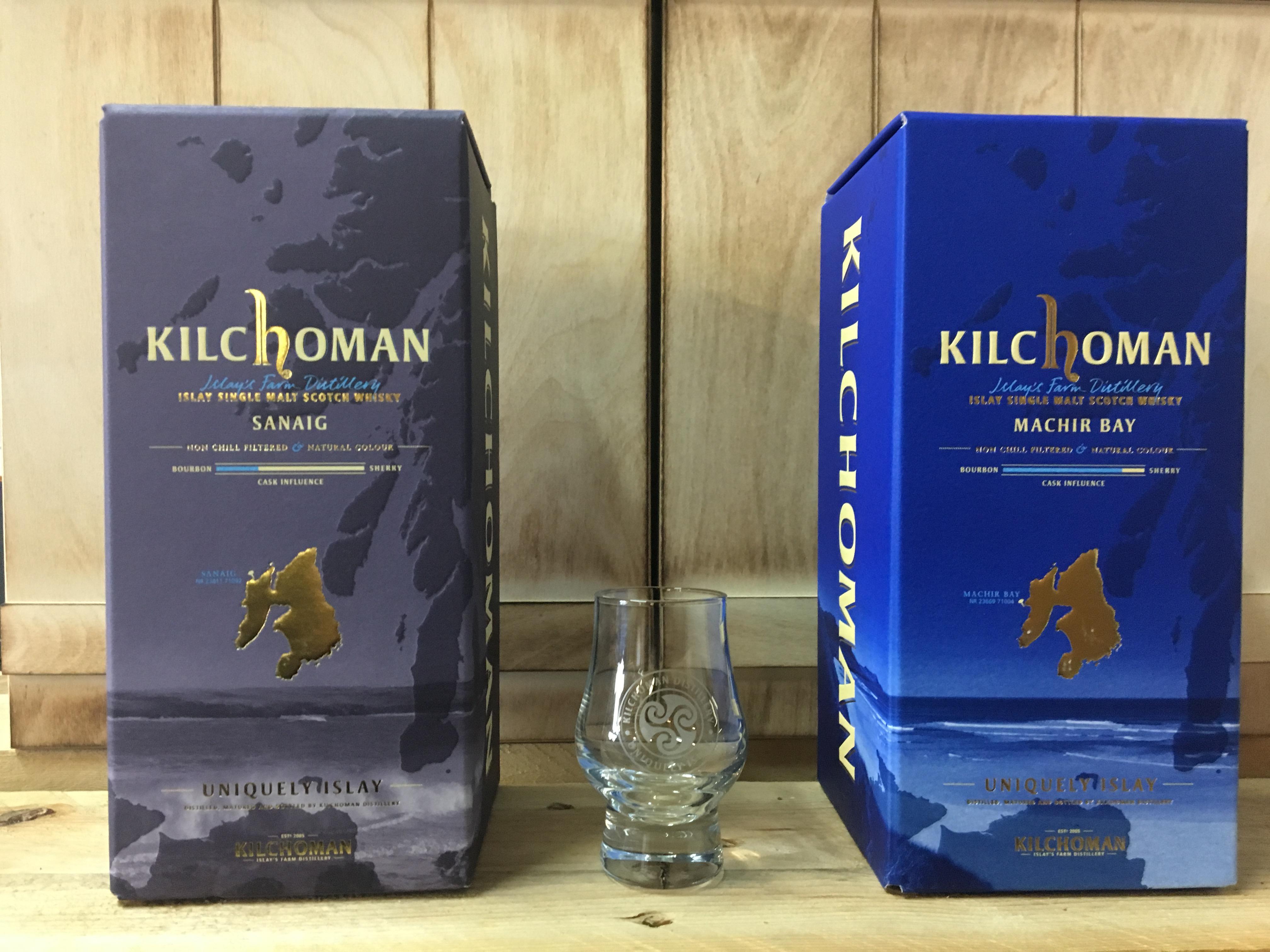 Set: Kilchoman Sanaig + Machir Bay + Glas