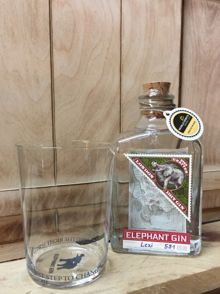Set: Elephant Gin + zwei Gläser
