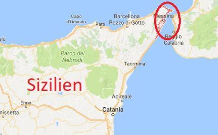 Anbaugebiet Limone Messina