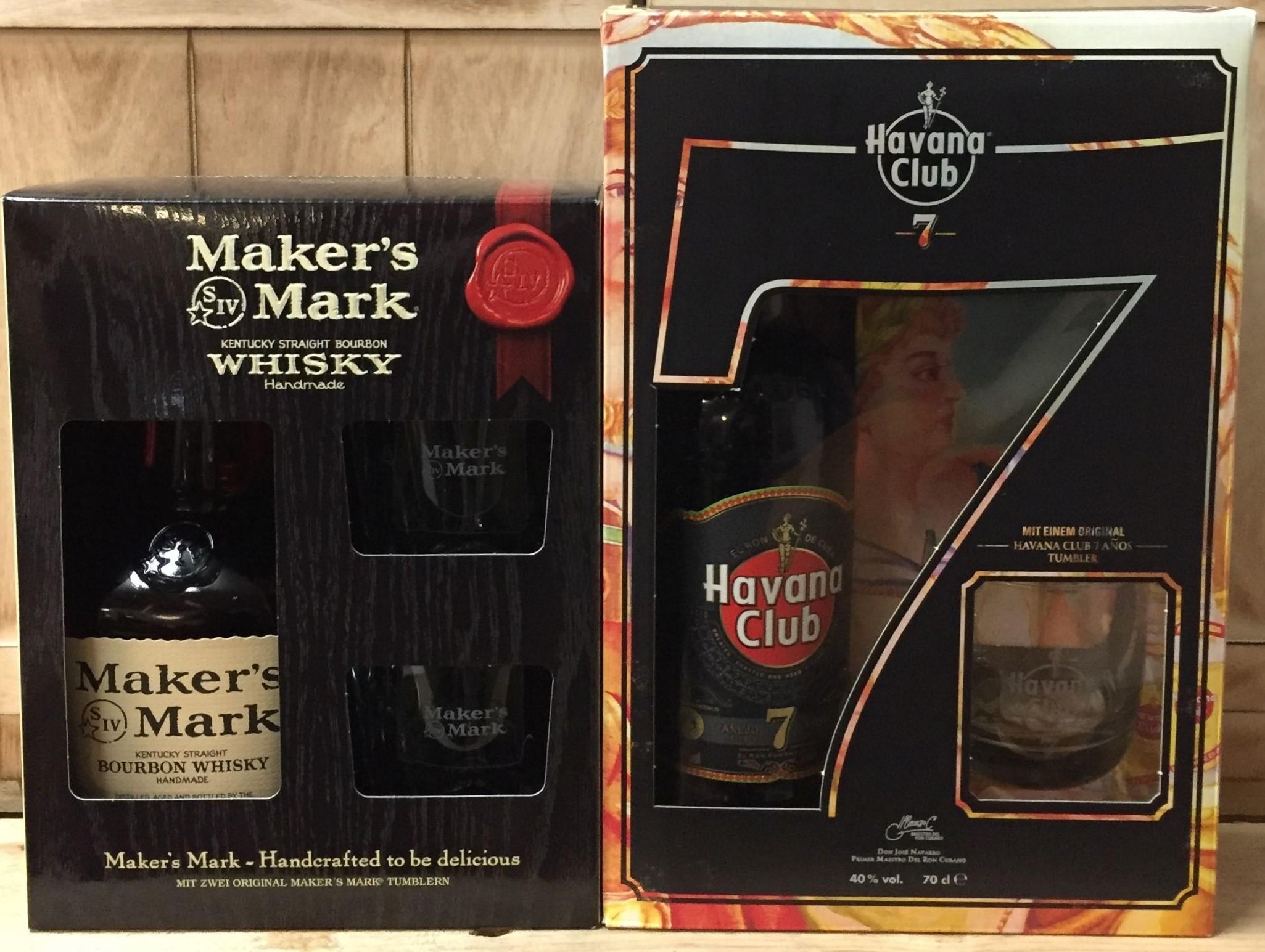 Makers Mark und Havana
