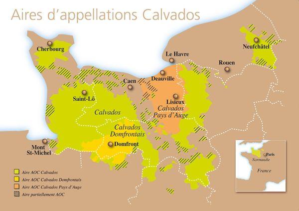 Die drei Anbauregionen
